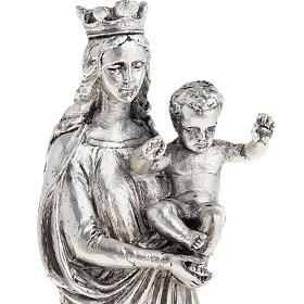 Notre Dame De la Garde resina color metallo 16 cm s3