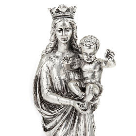 Notre Dame De la Garde resina color metallo 16 cm s2