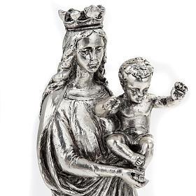 Notre Dame De la Garde resina color metallo 16 cm s5