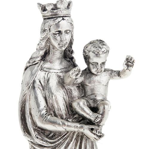 Notre Dame De la Garde resina color metallo 16 cm 3