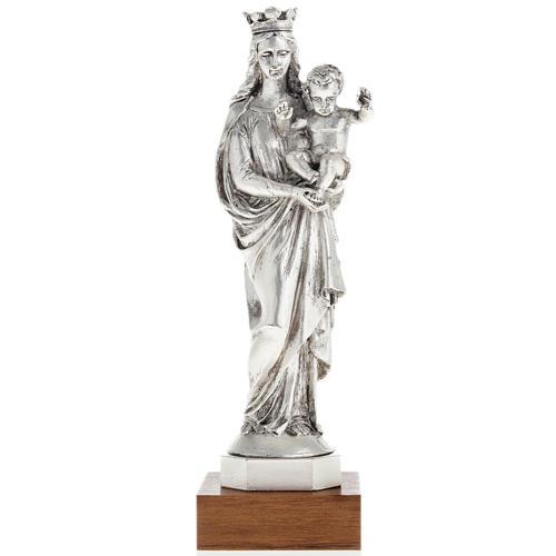 Notre Dame de la Garde in metal-coloured resin 16cm 1