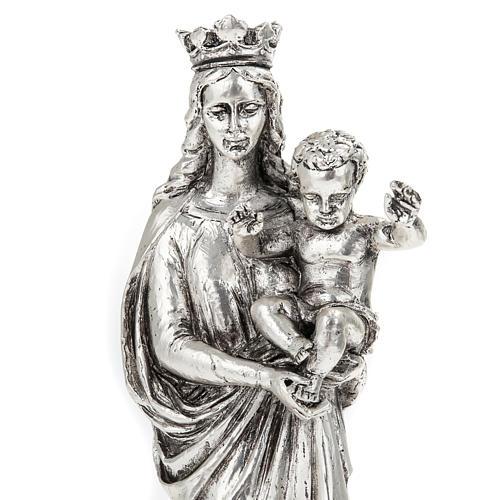 Notre Dame de la Garde in metal-coloured resin 16cm 2