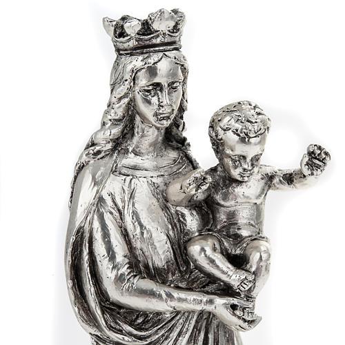Notre Dame de la Garde in metal-coloured resin 16cm 5