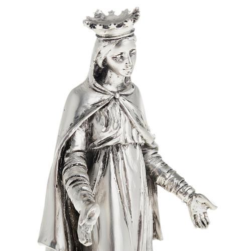 Notre Dame du Liban in metal-coloured resin 16cm 2