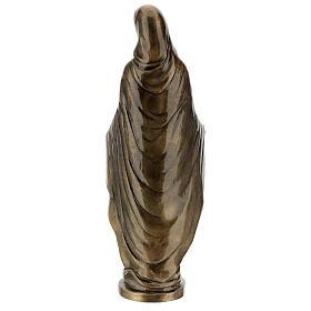 Statua Madonna Miracolosa bronzo 85 cm per ESTERNO s7