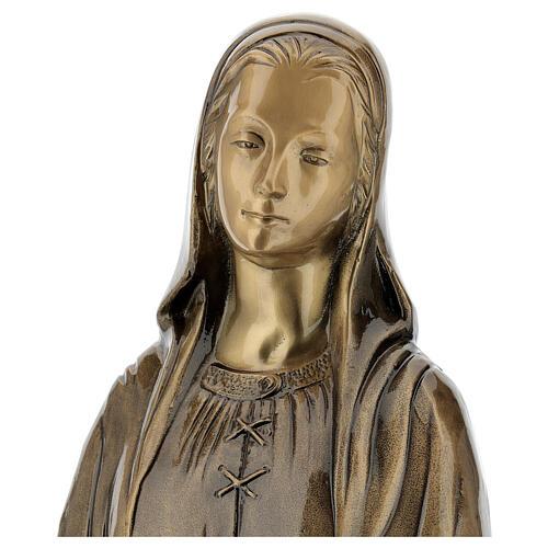 Statua Madonna Miracolosa bronzo 85 cm per ESTERNO 6