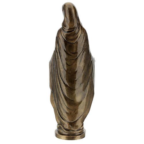 Statua Madonna Miracolosa bronzo 85 cm per ESTERNO 7