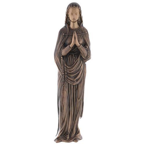 Statua Vergine Maria bronzo 85 cm per ESTERNO 1