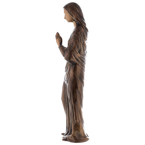 Statua Vergine Maria bronzo 85 cm per ESTERNO 5