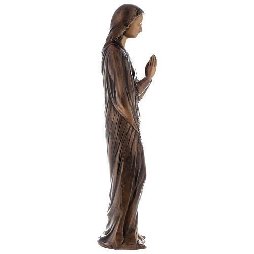 Statua Vergine Maria bronzo 85 cm per ESTERNO 6