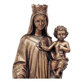 Statua Madonna del Carmine bronzo 80 cm per ESTERNO s2