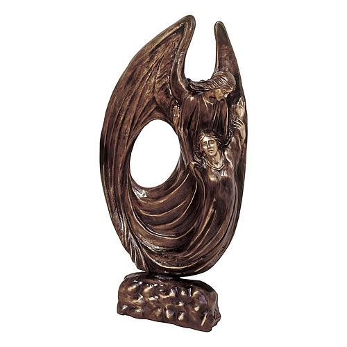 Statua bronzo Angelo Custode 115 cm per ESTERNO 1
