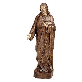 Merciful Jesus Bronze Statue 125 cm for OUTDOORS s1