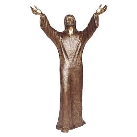 Abyss Christ Bronze Statue 100 cm for OUTDOORS s1