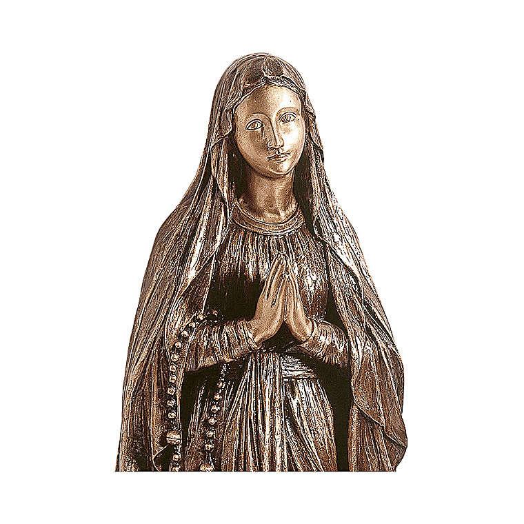 Statua bronzo Madonna di Lourdes 150 cm per ESTERNO 4