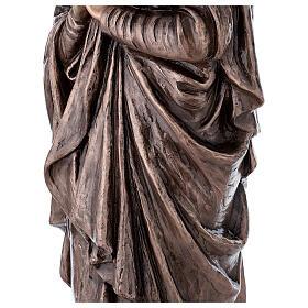 Statue religieuse Vierge Marie bronze 110 cm POUR EXTÉRIEUR s6