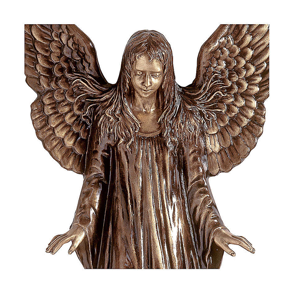 Statue of Angel for wall in bronze 110 cm for EXTERNAL USE 4