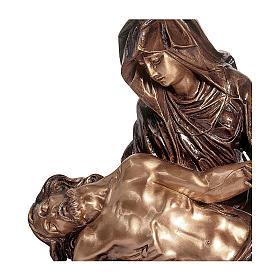 Statua Pietà bronzo 60 cm per ESTERNO s2
