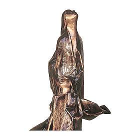 Statua funeraria Anime in volo bronzo 170 cm per ESTERNO s2