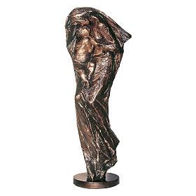 Statua Vergine Eleousa in bronzo 185 cm per ESTERNO s1