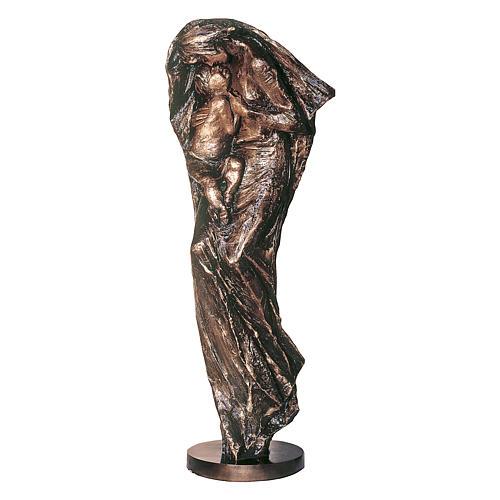 Statua Vergine Eleousa in bronzo 185 cm per ESTERNO 1