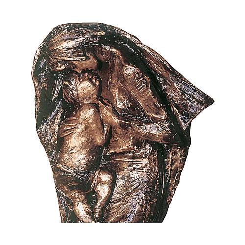 Statua Vergine Eleousa in bronzo 185 cm per ESTERNO 2