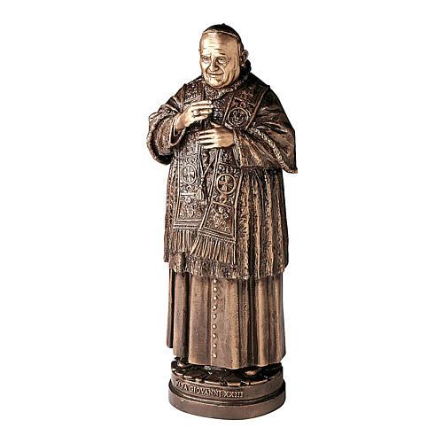 Statue of Pope John XXIII in bronze 65 cm for EXTERNAL USE 1