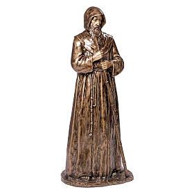 Statua S. Francesco da Paola in bronzo 180 cm per ESTERNO s1