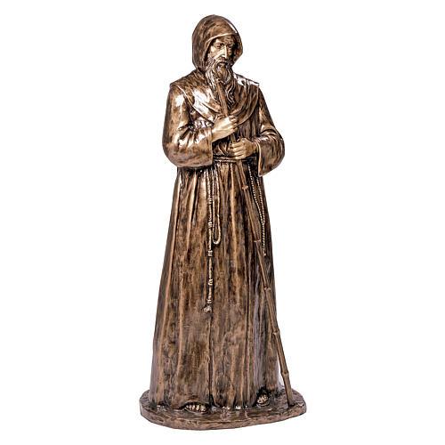Statua S. Francesco da Paola in bronzo 180 cm per ESTERNO 1
