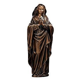 Statua Vergine Immacolata bronzo 65 cm per ESTERNO s1