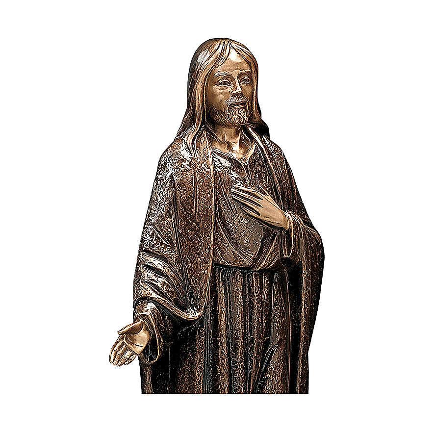 Statua Gesù Misericordioso 65 cm per ESTERNO 4