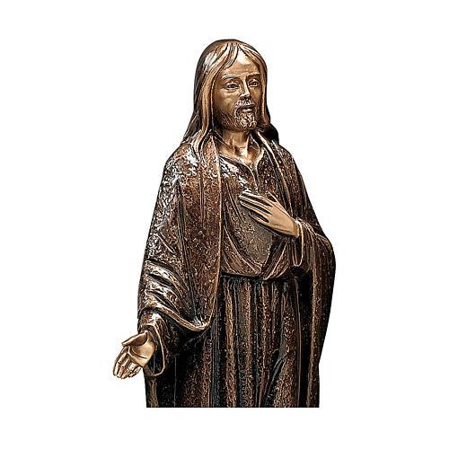 Statua Gesù Misericordioso 65 cm per ESTERNO 2