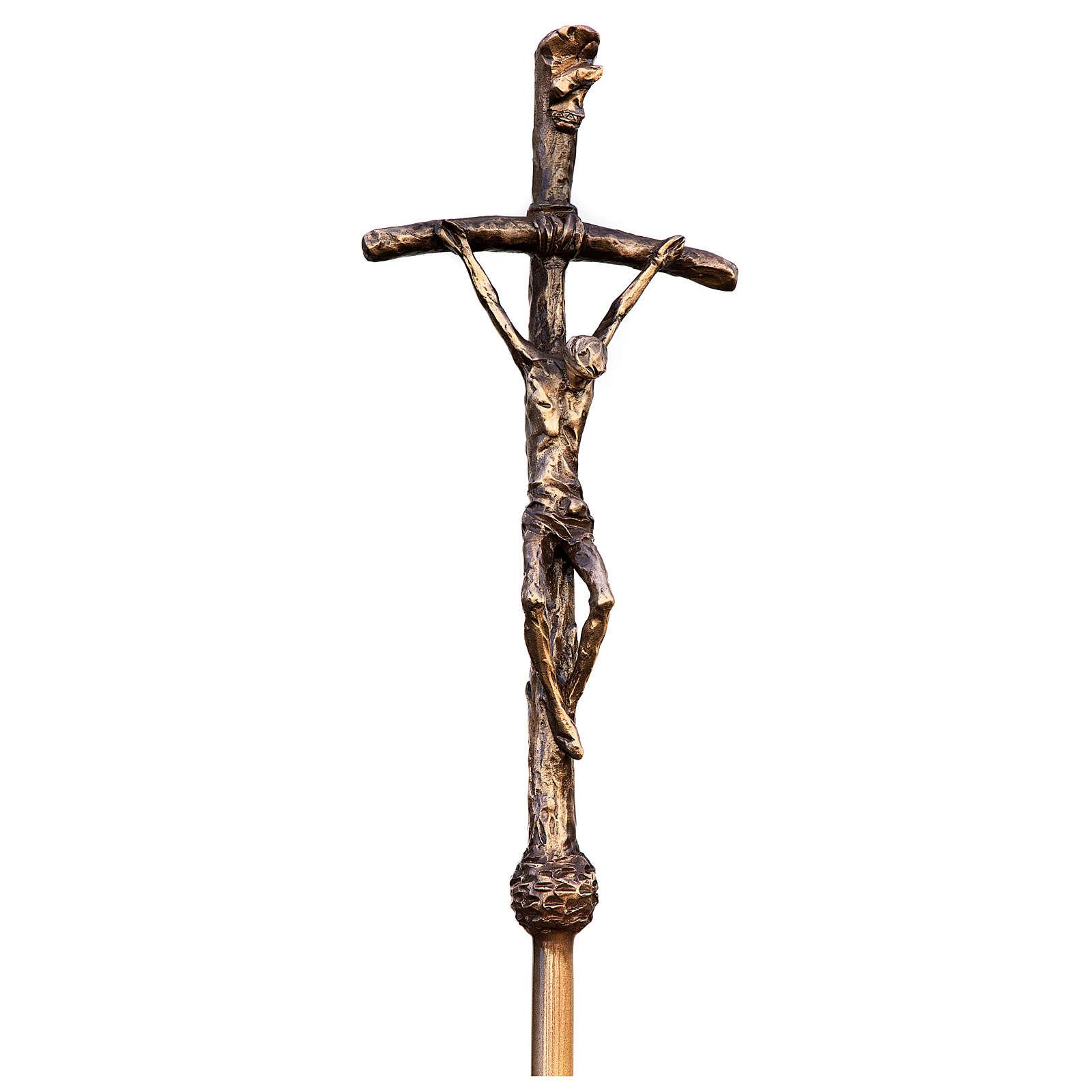 Pope John Paul II Bronze Statue 215 cm for OUTDOORS 4