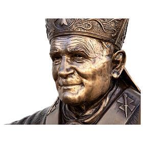 Pope John Paul II Bronze Statue 215 cm for OUTDOORS s2