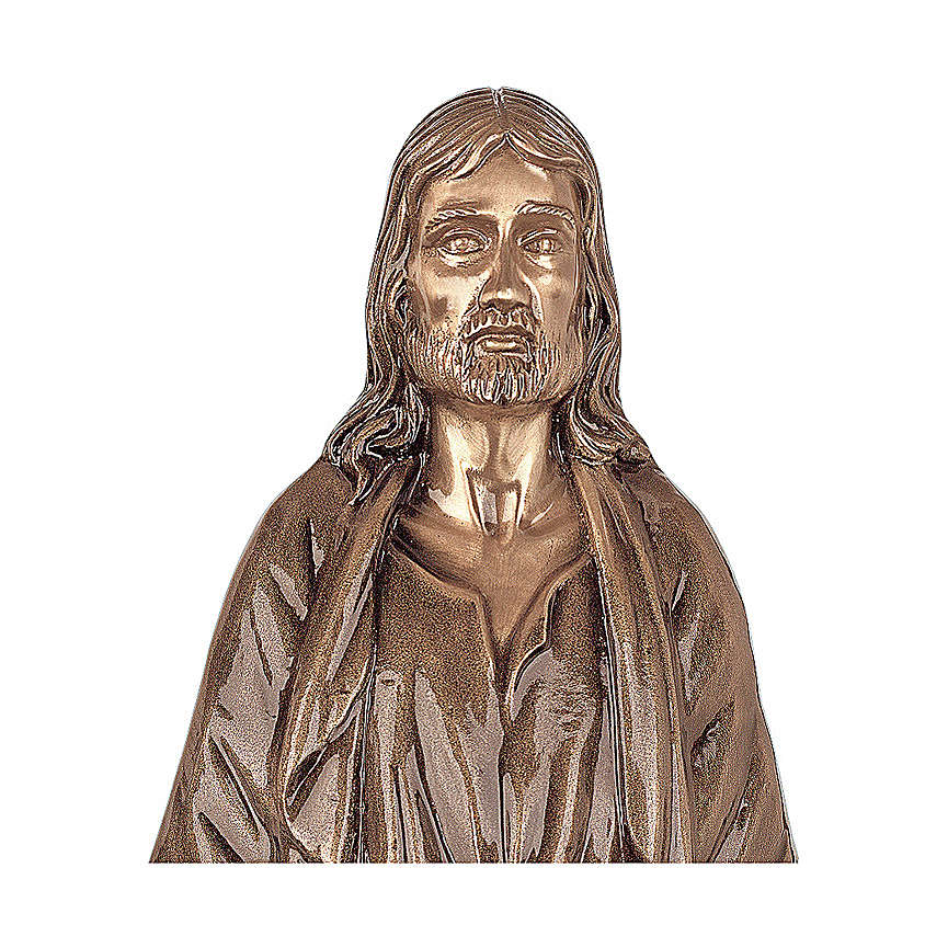 Statue of Christ Our Lord in bronze 60 cm for EXTERNAL USE 4