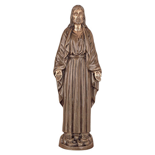 Statue of Christ Our Lord in bronze 60 cm for EXTERNAL USE 1