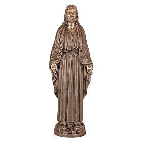 Statua Cristo Nostro Signore bronzo 60 cm per ESTERNO s1