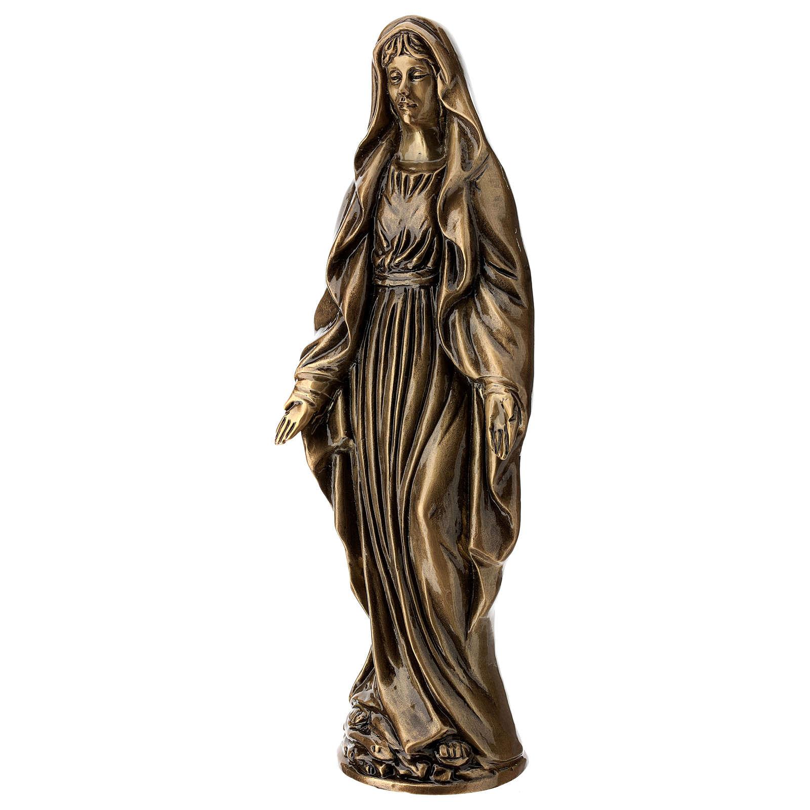 Statua Vergine Miracolosa 40 cm per ESTERNO 4