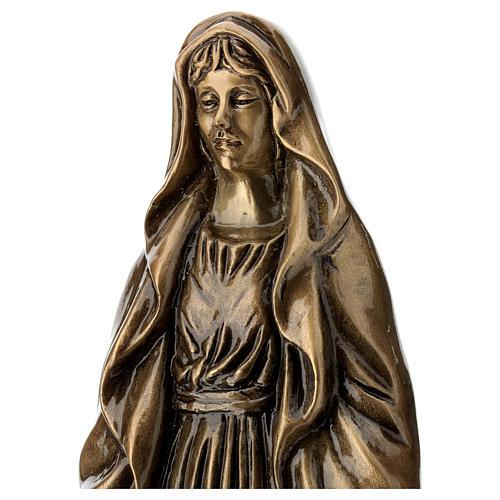Statua Vergine Miracolosa 40 cm per ESTERNO 2