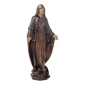 Statua bronzea Vergine Miracolosa 175 cm per ESTERNO s1