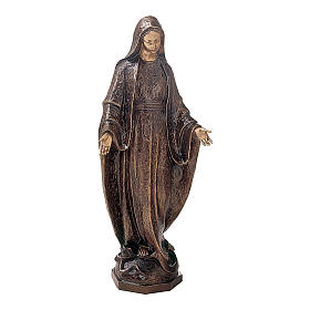 Bronze Statue of Our Lady of Miracles 175 cm for OUTDOORS s1