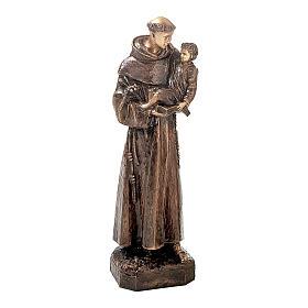 Statue Saint Antoine bronze 80 cm pour EXTÉRIEUR s1