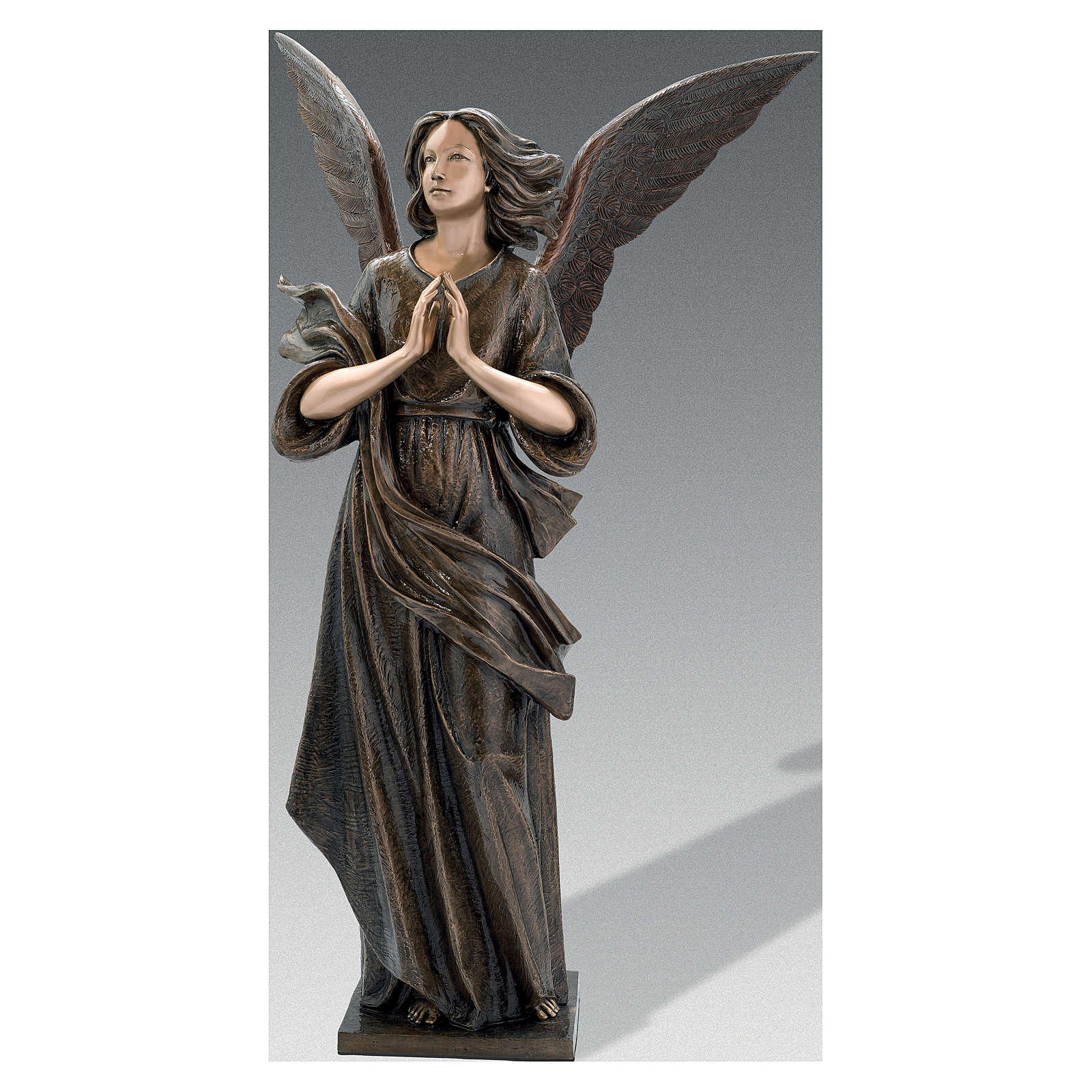 Statue of Angel in bronze 210 cm for EXTERNAL USE 4