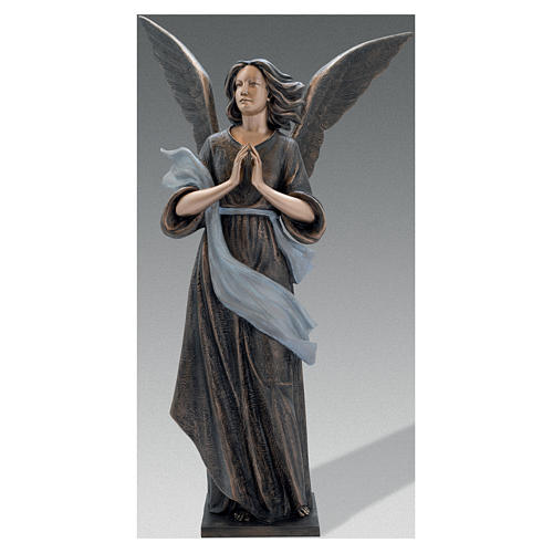 Scultura Angelo Custode bronzo 210 cm per ESTERNO 1