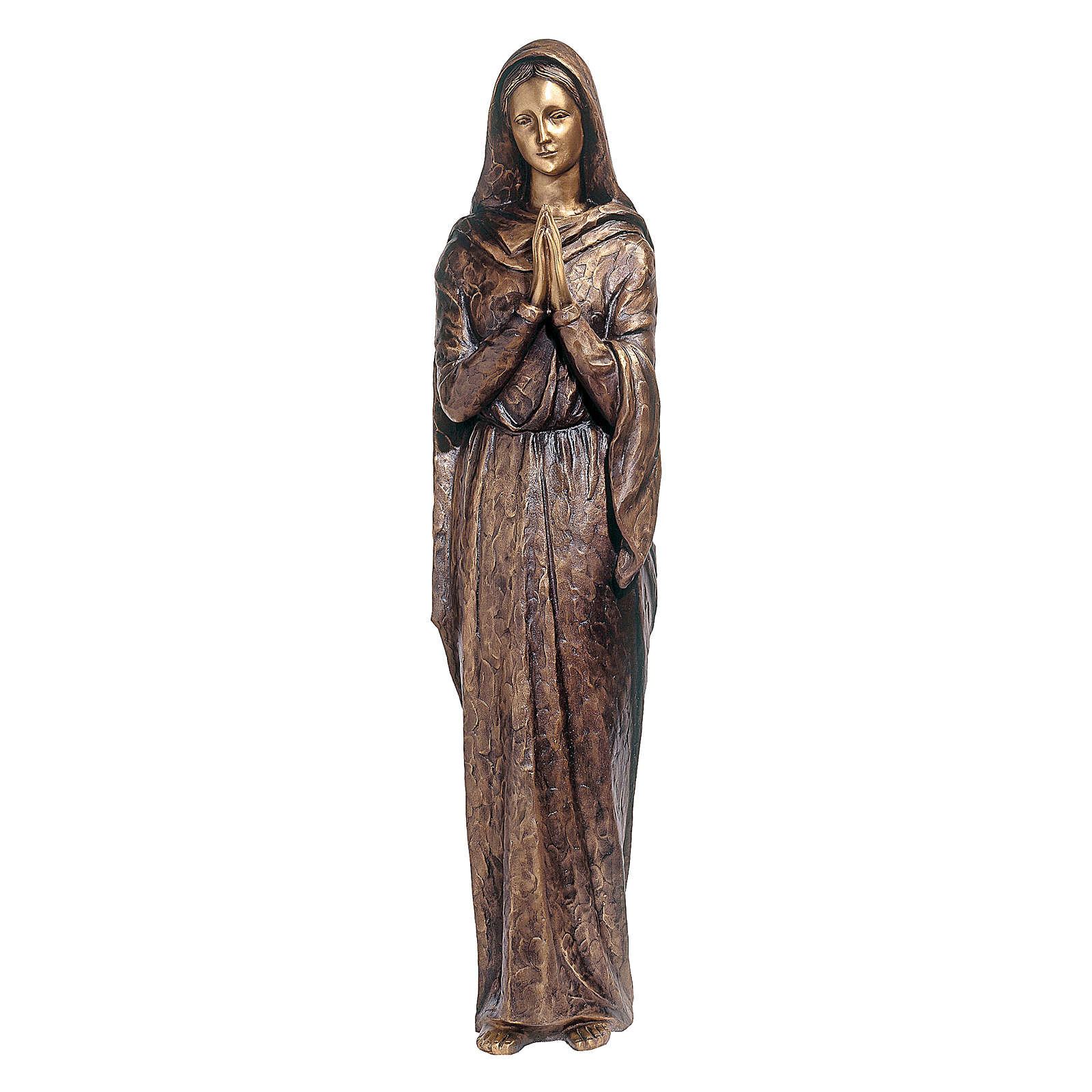 Bronze Virgin Mary Statue 100 cm for OUTDOORS 4