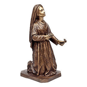 Funeral Statue Kneeling Woman 65 cm for OUTDOORS s1