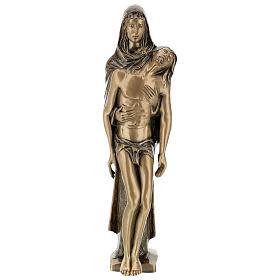 Pietà in piedi statua bronzo PER ESTERNO 80 cm s1