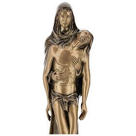 Pietà in piedi statua bronzo PER ESTERNO 80 cm s4
