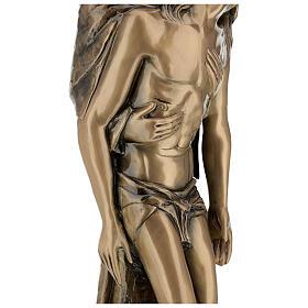 Pietà in piedi statua bronzo PER ESTERNO 80 cm s10
