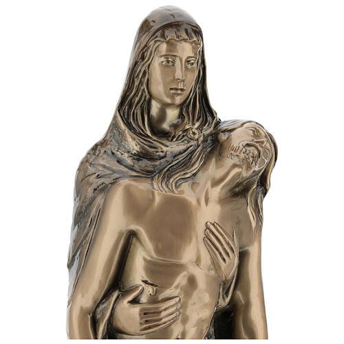 Pietà in piedi statua bronzo PER ESTERNO 80 cm 8